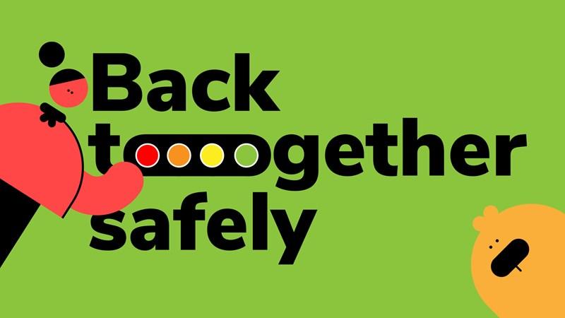 Back Together Safely Green